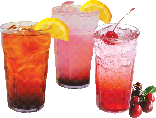 blackberry-tea-lemonade-cherry-vanilla-soda