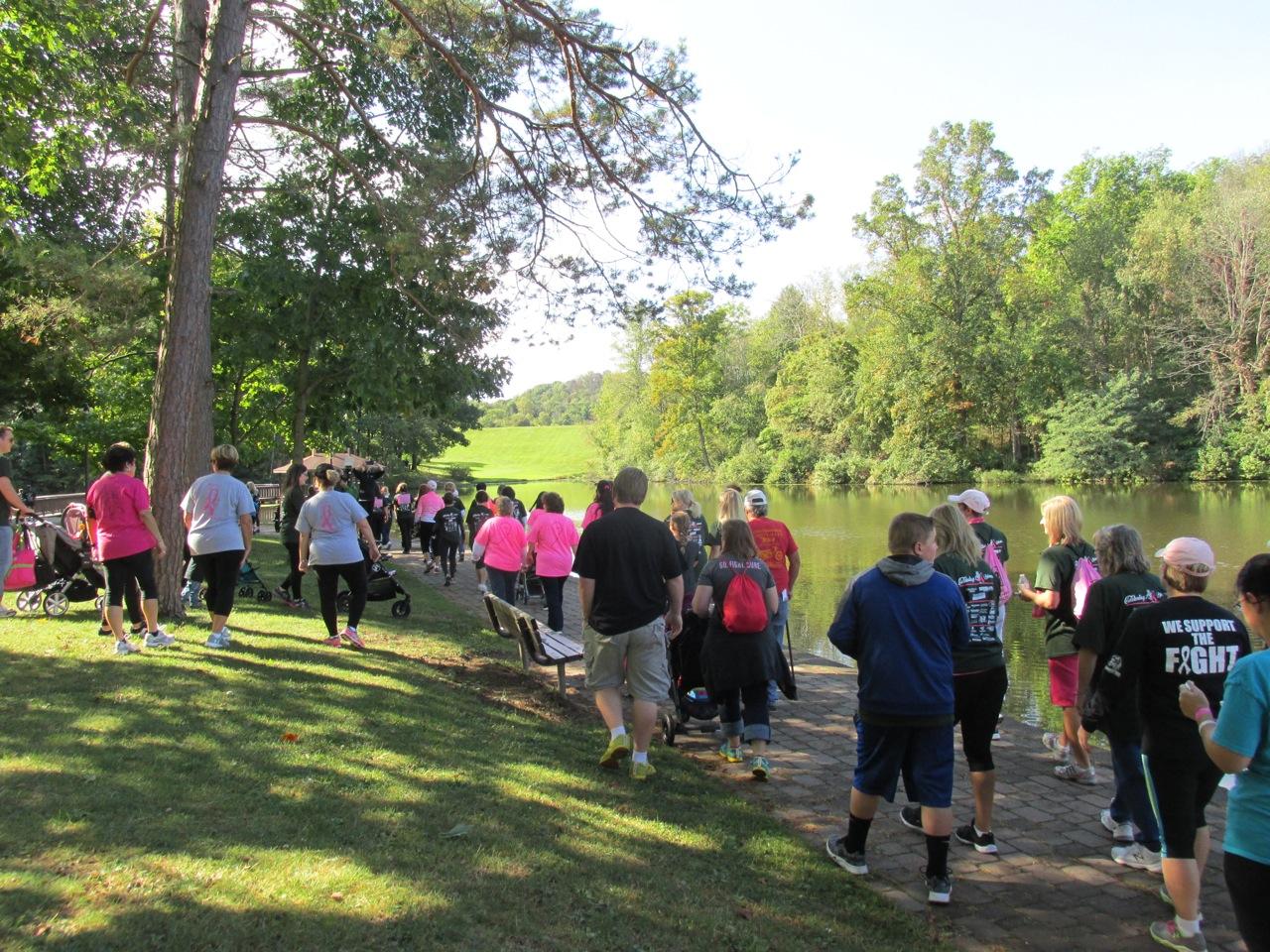 Breast Cancer Walk - October 2016