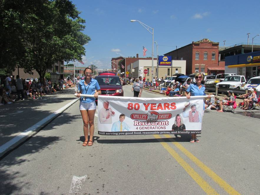 4th of July Parade 2018 - 80th Year Banner